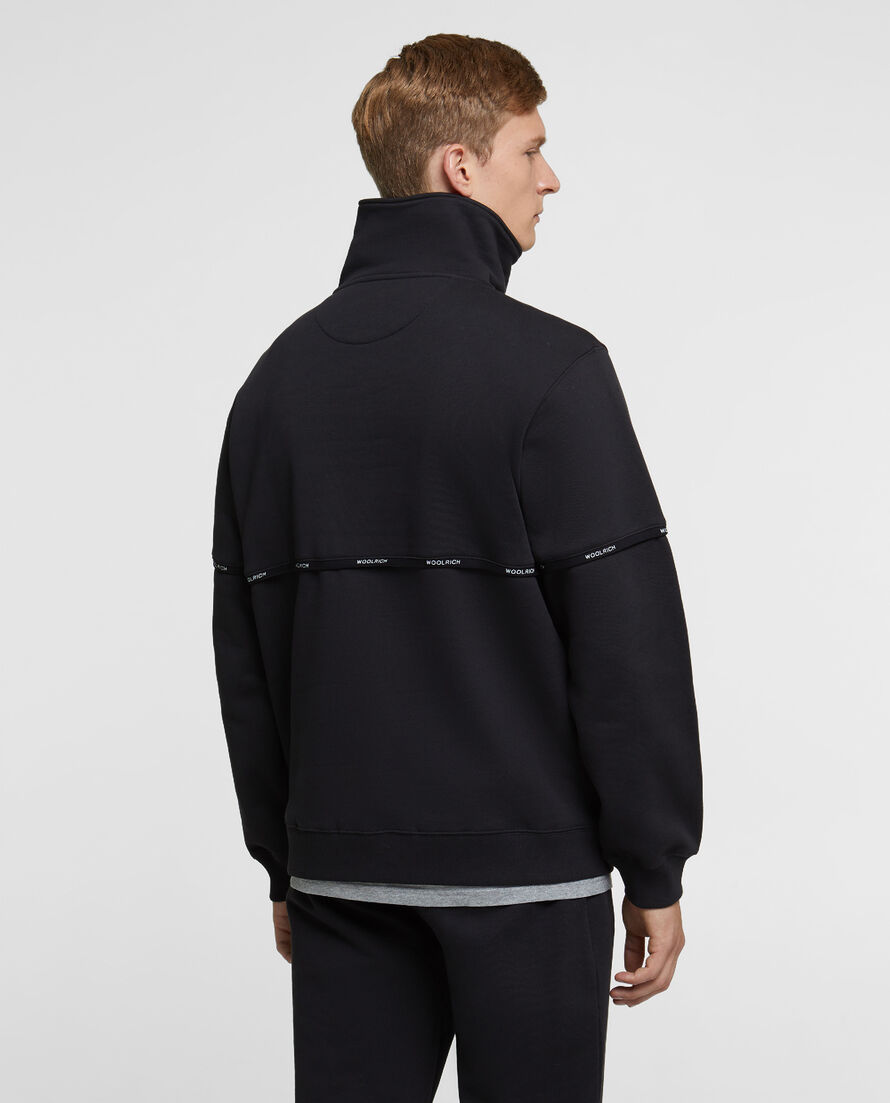 Brushed Half Zip