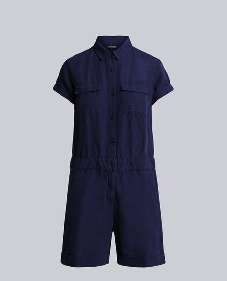 W'S Cotton Linen Jumpsuit