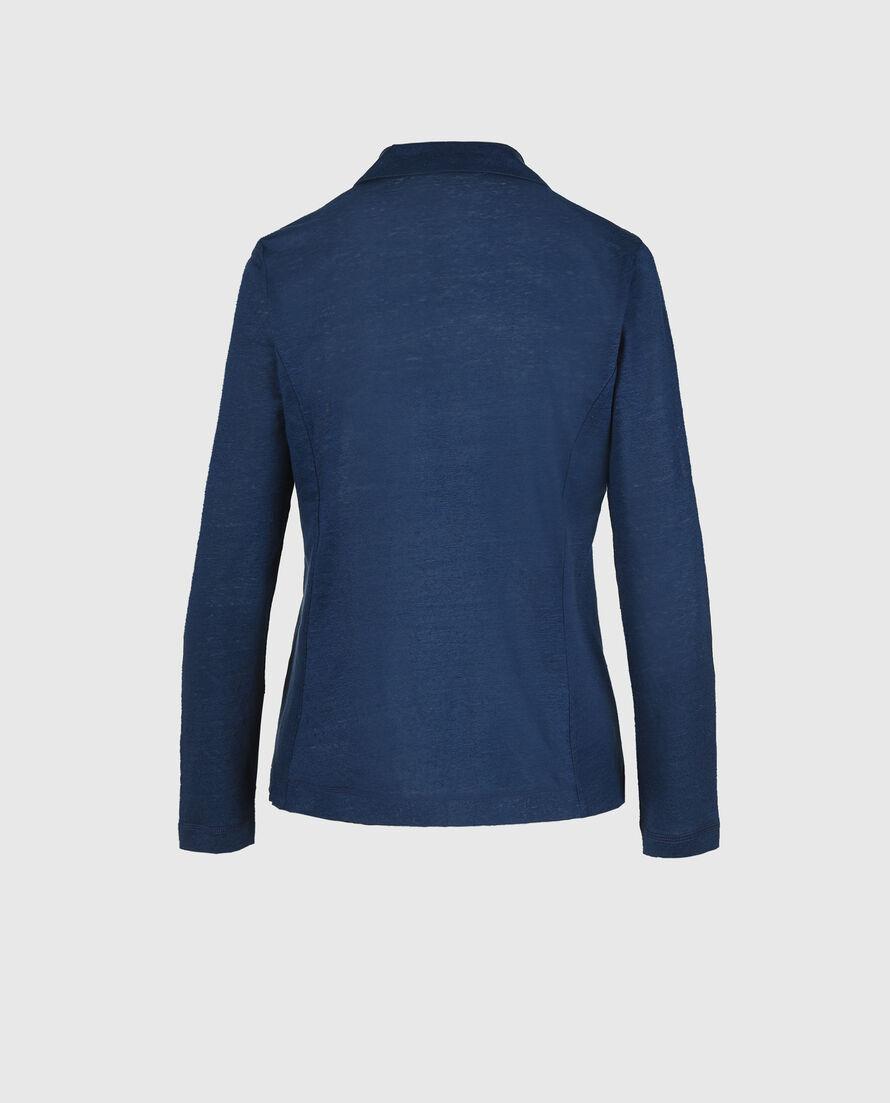 W'S  Slub Jersey Blazer