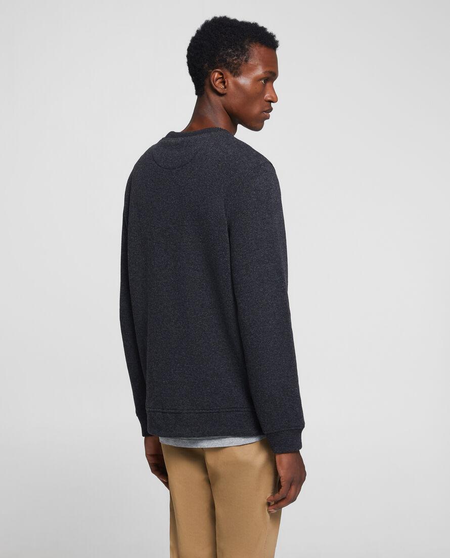 Wool Cotton Crew Neck