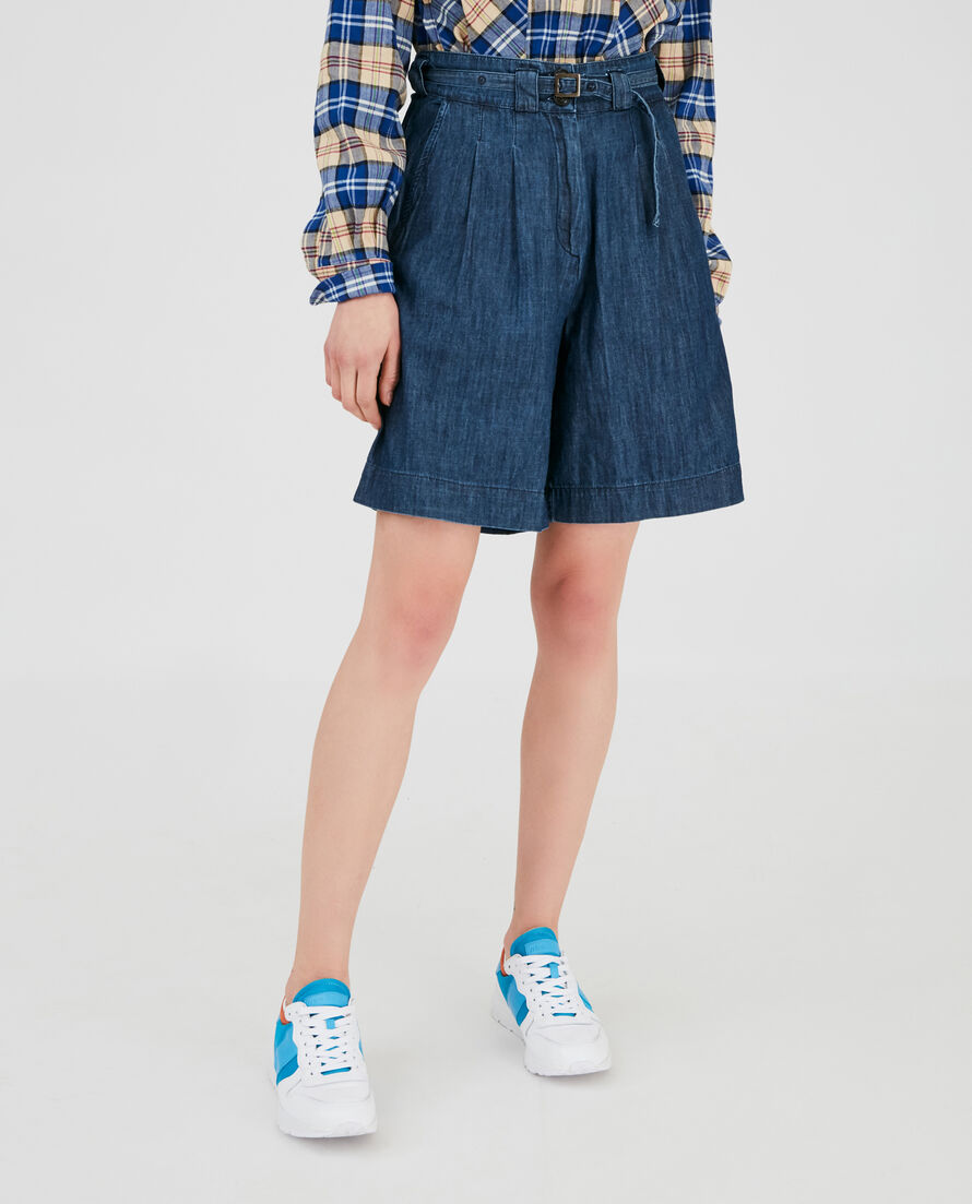 W'S Denim Chambray Short
