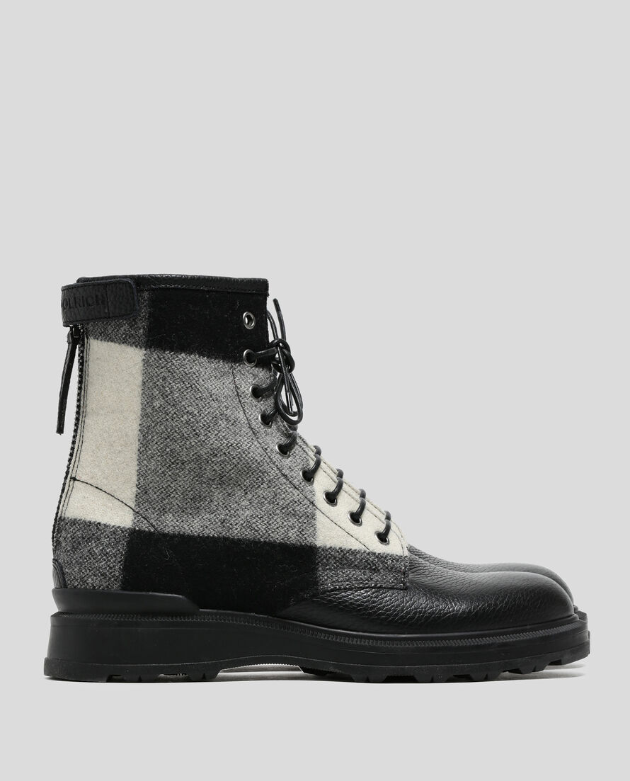 W'S Wool Check Work Boot