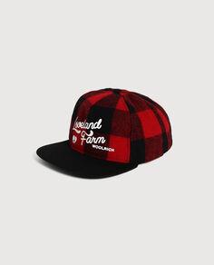 Check Baseball Cap