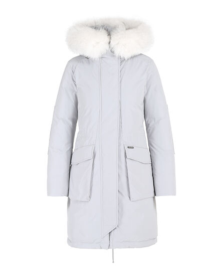 W'S Military Parka New Fur