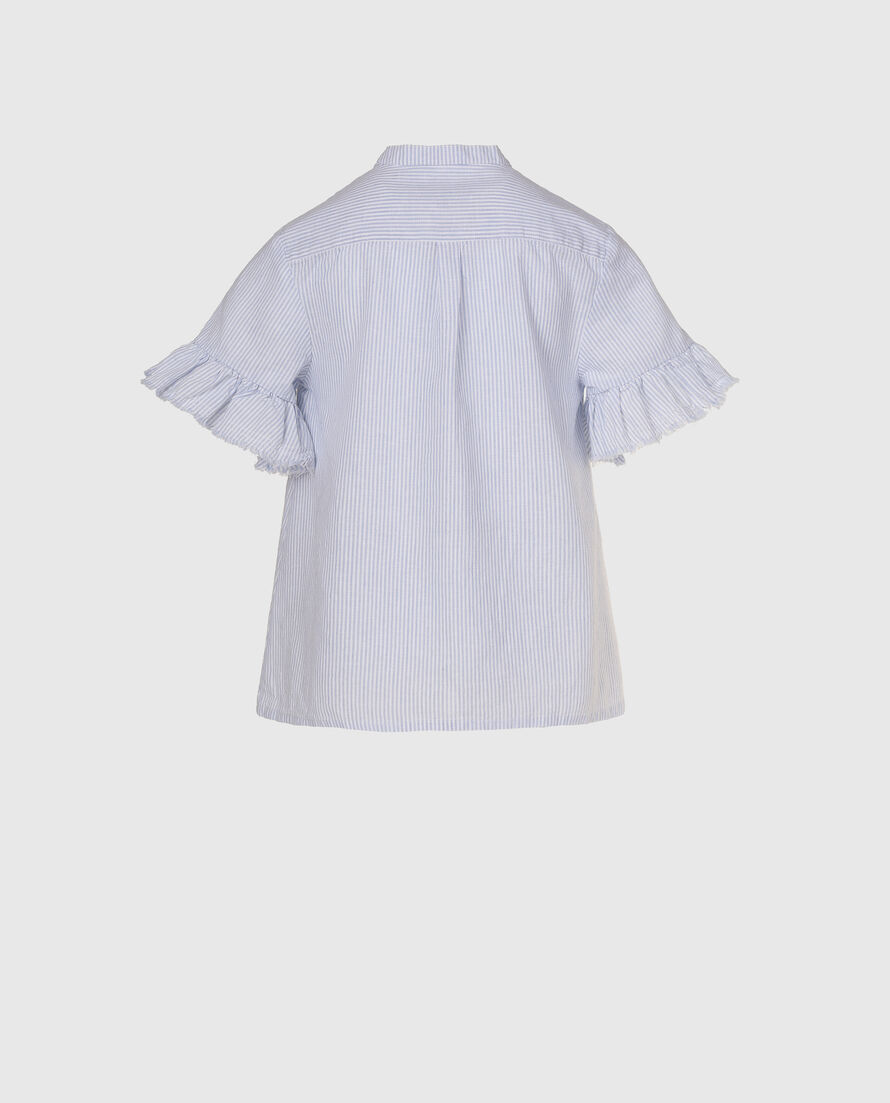 G'S Cotton Linen Over Shirt