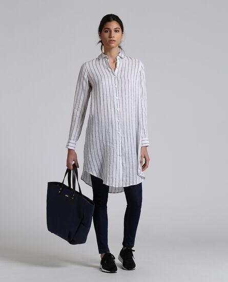 W'S Linen Over Shirt