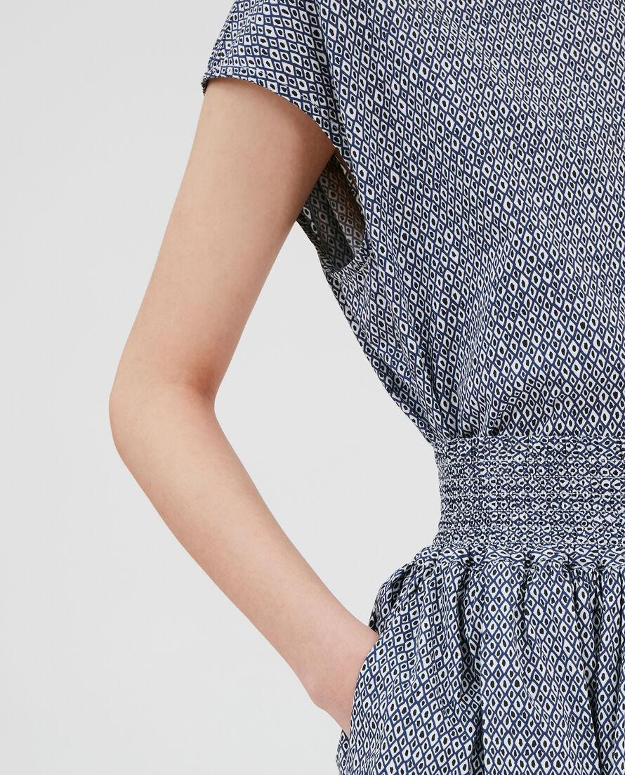 W'S Printed Popeline Skirt