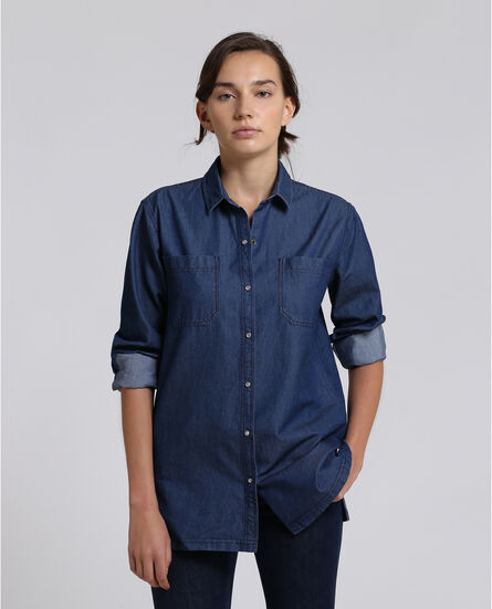 W'S Denim Shirt