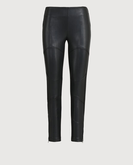 W'S Leather Skinny Pant