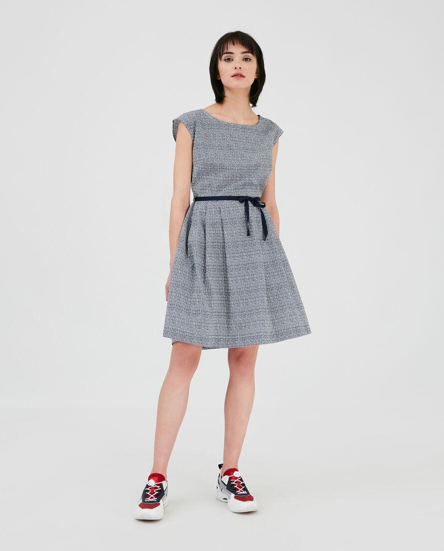 W'S Printed Popeline Dress