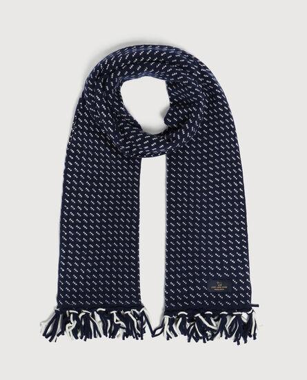 Birdseye Knit Scarf