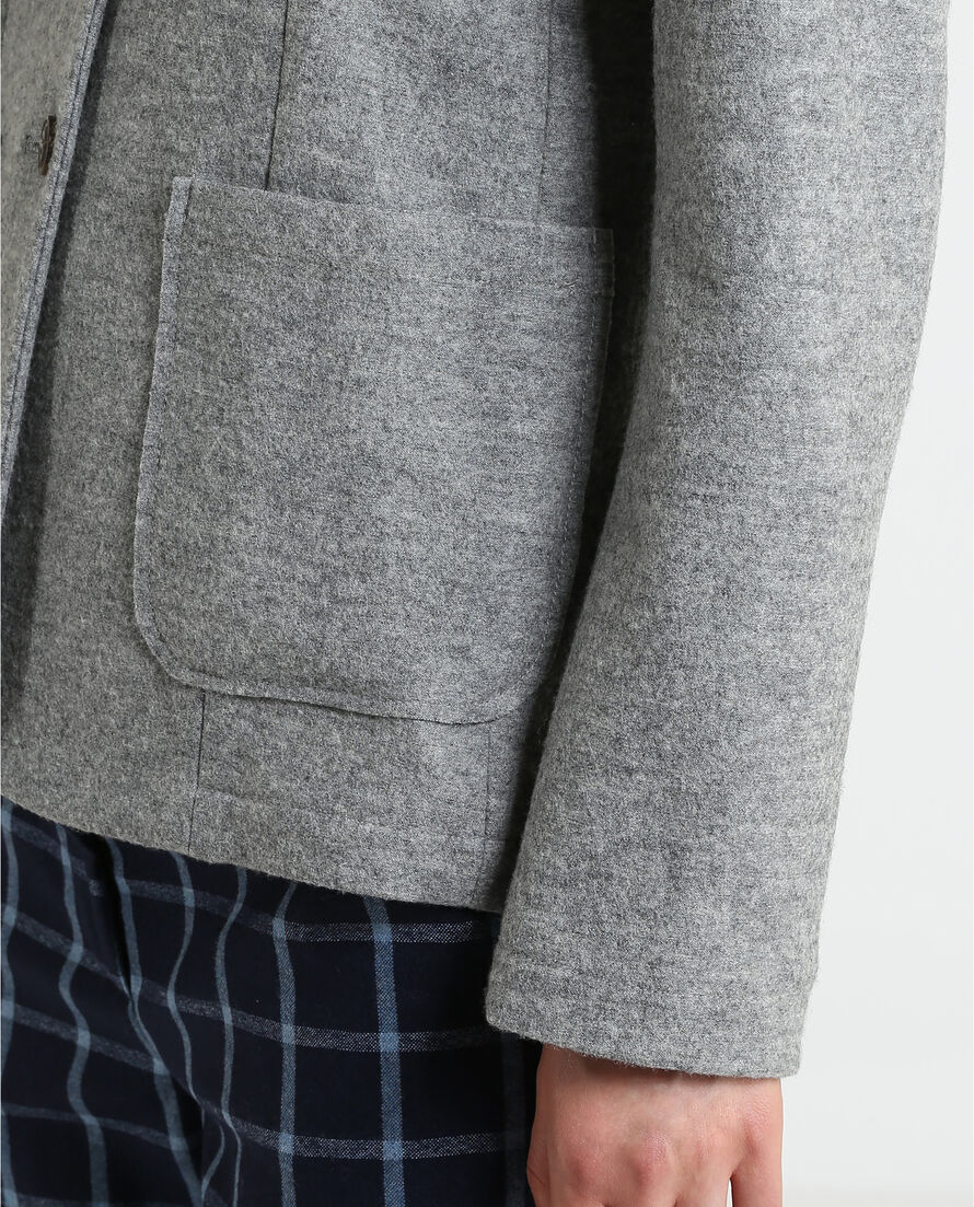 W'S Felted Fleece Blazer