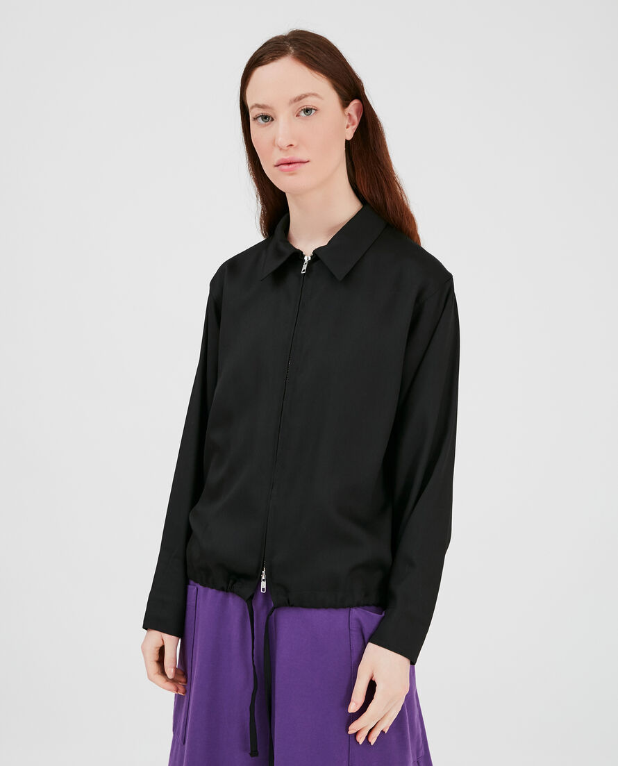 W'S Fluid Zip Shirt