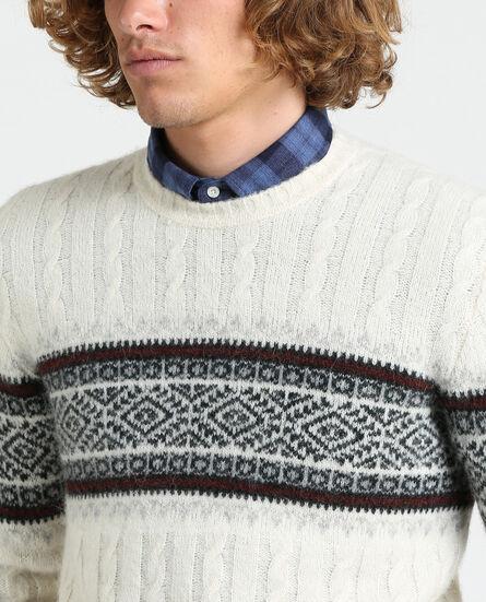 Alpaca Jacquard Sweater