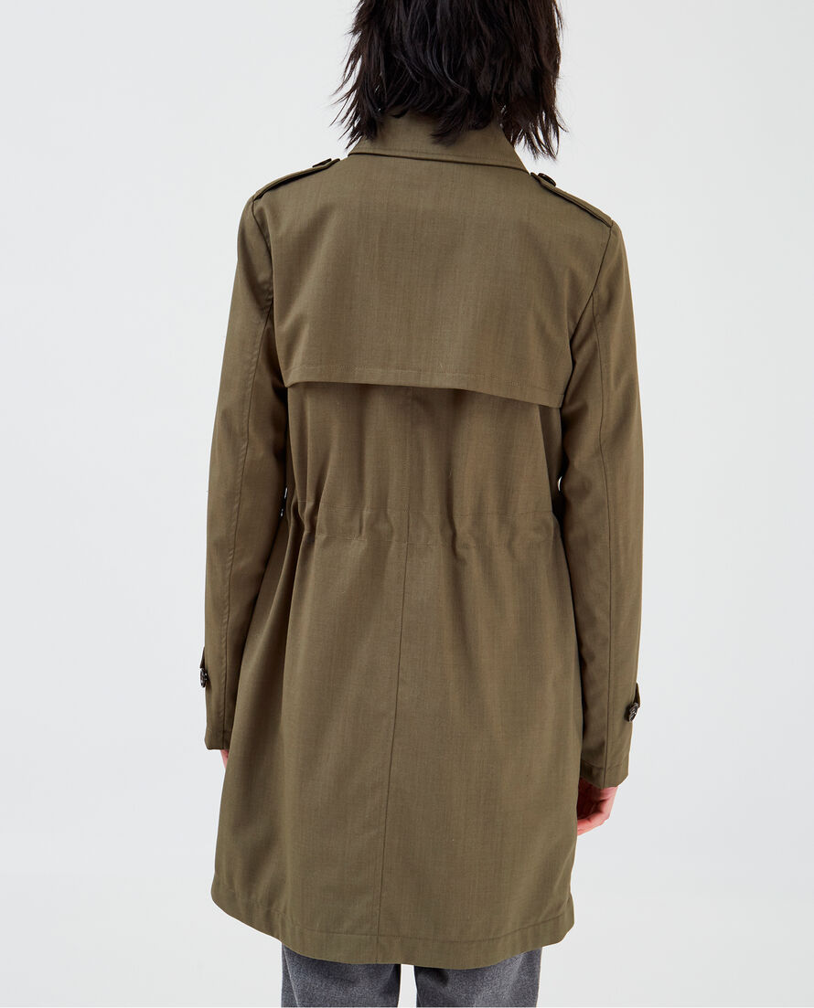 W'S Kettle Trench Coat