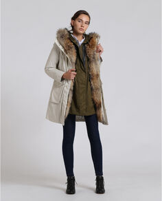 3 In 1 Military Parka Look