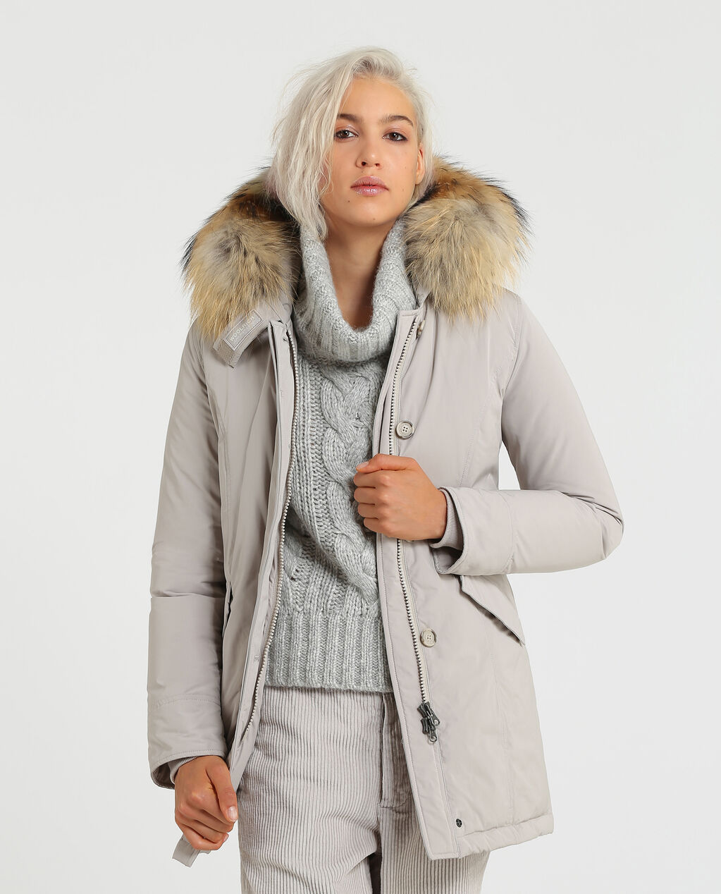 check out 66356 a8bf5 WOOLRICH CAPOSPALLA - OUTERWEAR W'S Luxury Arctic Parka ...