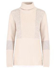 W'S Patchwork Sweater