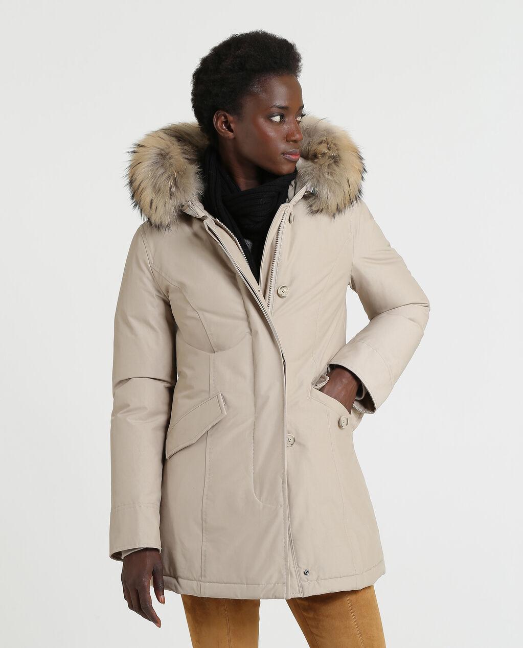 new style 5987f 1cfb2 WOOLRICH CAPOSPALLA - OUTERWEAR W'S Arctic Parka Fr ...