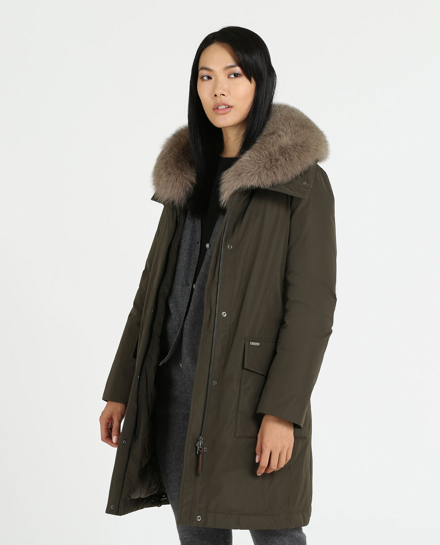 W'S City Cocoon Coat Df