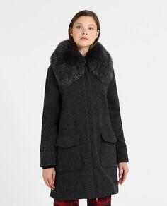 W'S Wool Cotton Track Coat