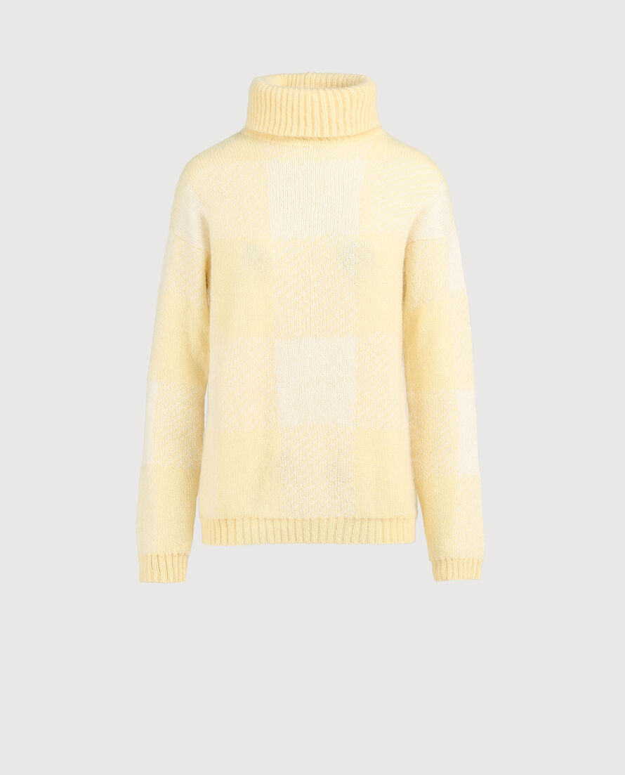W'S High Neck Sweater
