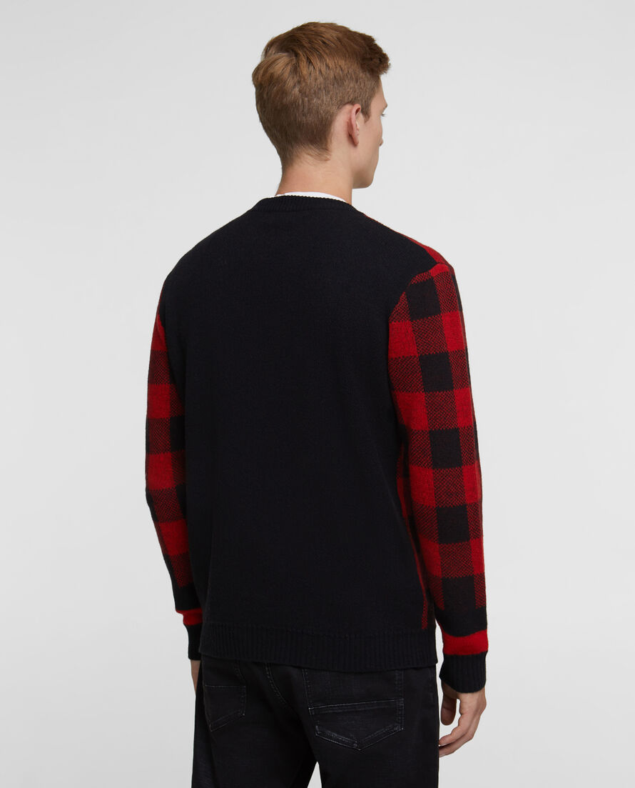 Buffalo Check Crew Neck