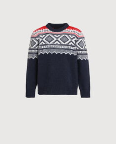 B'S Jacquard Sweater