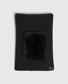W'S Fur Pockets Scarf