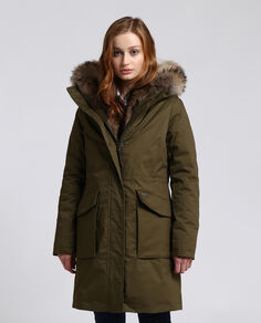W'S 3 In 1 Military Parka