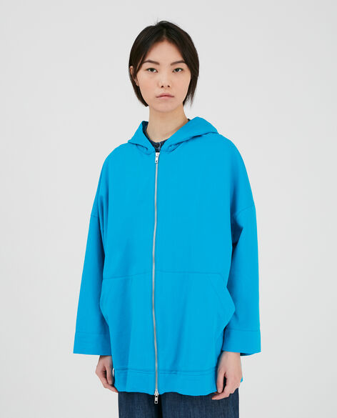 W'S Cotton Open Hoodie