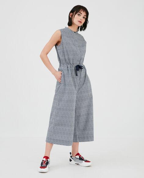 W'S Printed Popeline Jumpsuit