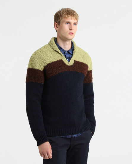 Boucle' Wool Alpaca Sweater