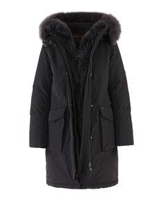 W'S Military Parka New Fur