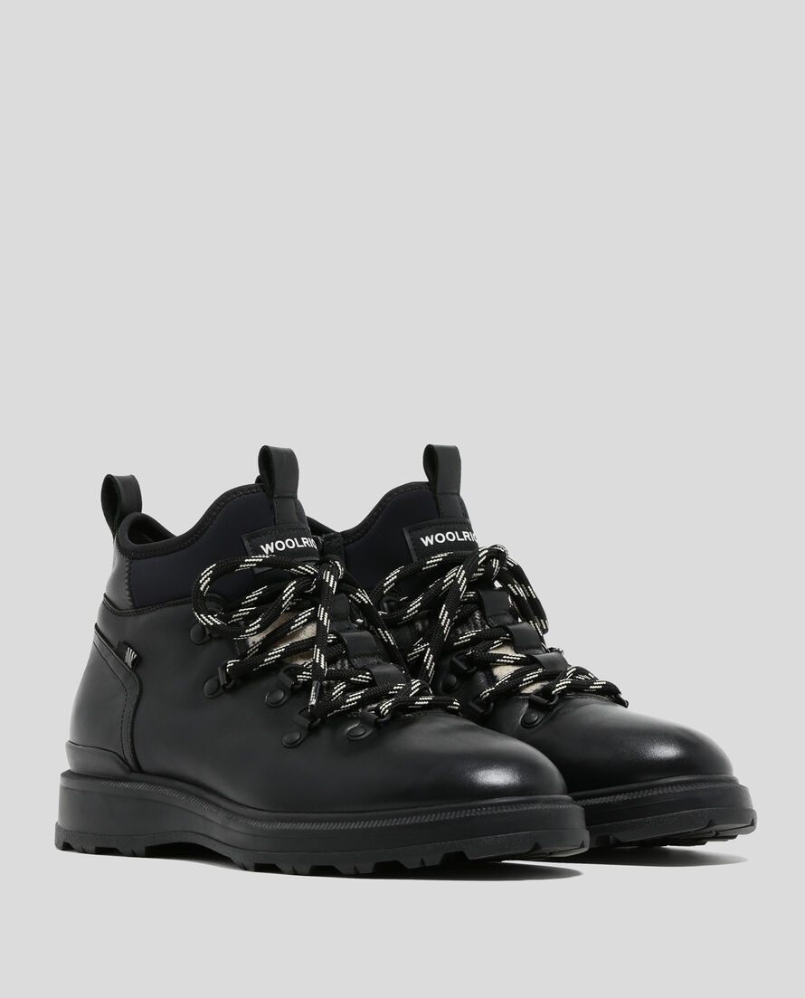 W'S Wool Check Hiker Boot