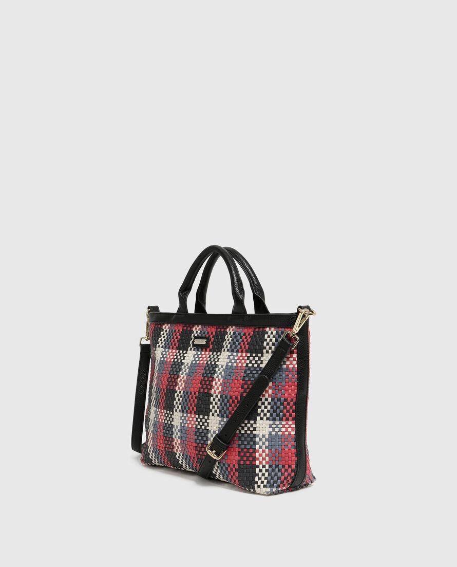 W'S Check Small Bag