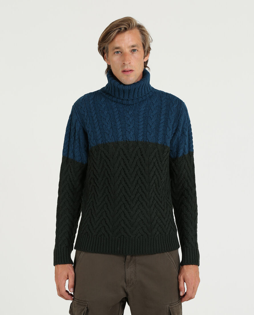 Stitch Merinos Turtle Neck