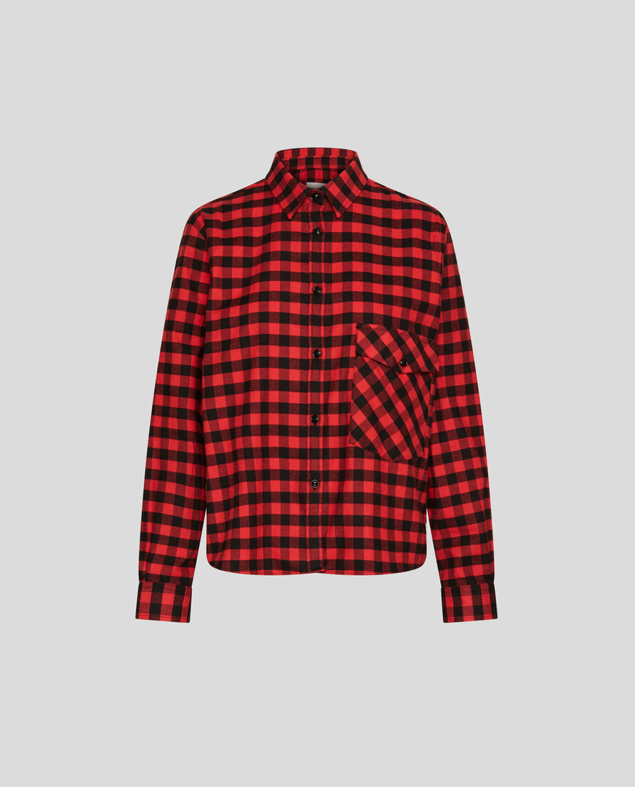 W'S Urban Flannel Shirt