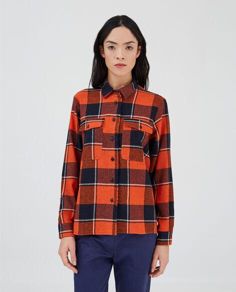 W'S Wool Gauze Shirt