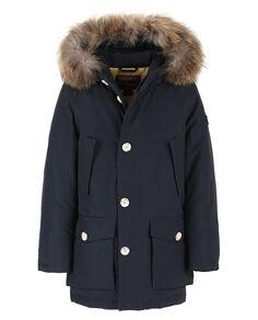 B'S Parka Detachable Fur, DARK NAVY, hi-res