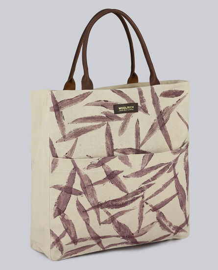 W'S Natural Canvas Tote Bag
