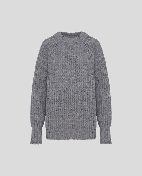 W'S Country Tweed Crew Neck