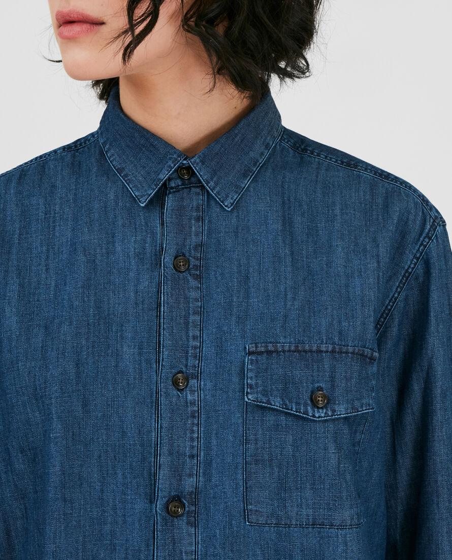 W'S Denim Chambray Shirt