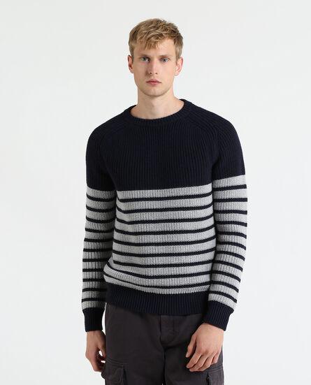 Merinos Stripe Sweater