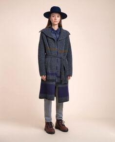 Felted Yak Coat Look