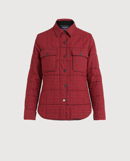 W'S Padded Check Over Shirt