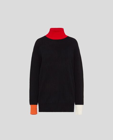 W'S Wool Cashmere Turtle Neck
