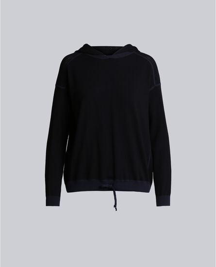 W'S Luxury Knit Hoodie