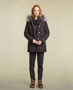 Luxury Arctic Parka Fox Look