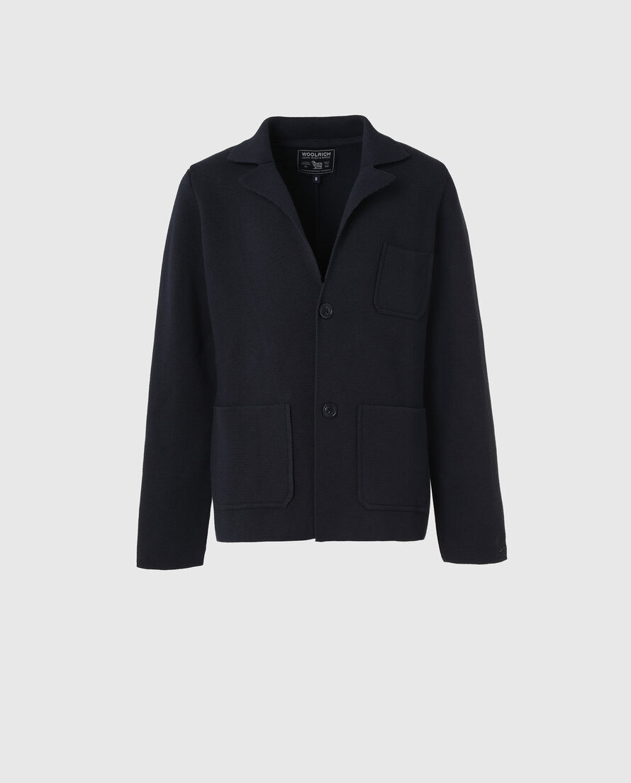 B'S Cotton Knit Blazer